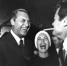 Cary Grant, Janet Leigh, & Tony Curtis