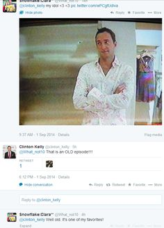 Clinton kelly on pinterest clinton kelly the chew and clinton n jie