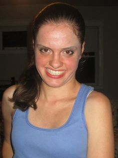 My make over from using Mary Kay make up