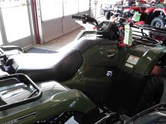 New 2017 Honda FourTrax® Rancher® 4x4 DCT IRS ATVs For Sale in New Mexico. Any mechanic, woodworker, tradesman or craftsman knows that the right tool makes the job a whole lot easier. And having the right tool means having a choice. We've all seen someone try to drive a screw with a butter knife, or pound a nail with a shoe heel. The results are never pretty. Honda's FourTrax Rancher line are premium tools for the jobs you need to do, whether that's on the farm, the jobsite, hunting…