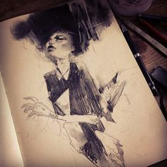 Illustration / Sketchbook drawings by artist Craww