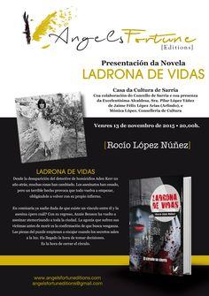 Si te perdiste la presentación,  no dejes de leer esta novela de asesinatos en el corazón de Nueva York. www.angelsfortuneditions.com