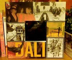 """Espejo """"Dali"""". Vendido / Sold out.   (GloriArte143)"""