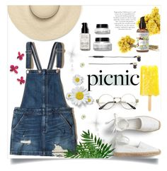 """""""PICNIC💙"""" by navya-naveli ❤ liked on Polyvore featuring Hollister Co., Bobbi Brown Cosmetics and B&O Play"""