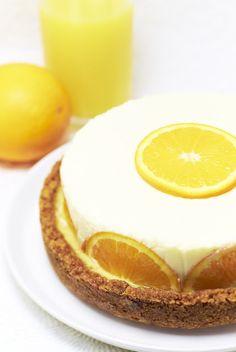 Sweet Orange cheesecake