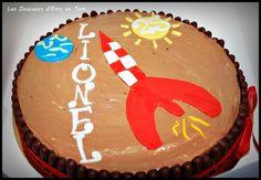 Trianon de Tintin • Tintin cake and birthday cake • Tintin gateaux Birthday Cake, Desserts, Party Ideas, Cakes, Pies, Chocolate Fondue, Tailgate Desserts, Birthday Cakes, Deserts