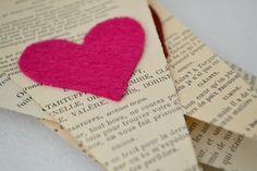 Valentine Garland- Vintage style. @Jennifer Hunter @Brooke Scilley @Natalie White