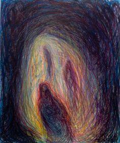 Three Sisters study, Wakefield Artist Tim Burton. Three Sisters, Wakefield, Tim Burton, Mystic, Study, Drawings, Illustration, Artist, Painting