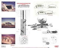 Fabrica de fertilizantes en Monclova, Coahuila, México- Arq. Jaime Ortiz Monasterio (tesis profesional) Floor Plans, Architecture, Floor Plan Drawing, House Floor Plans