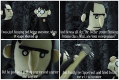 Harry Potter Puppet Pals: Harry's Nightmares<<and he tried to kill me with a hammer Harry Potter Puppets, Potter Puppet Pals, Harry Potter Jokes, Harry Potter Fandom, Hogwarts, Slytherin, No Muggles, Harry Potter Universal, Drarry