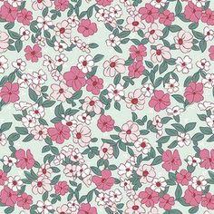 Melissa Mortenson - Wonderland 2 - Floral in Mint