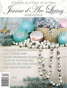 Jeanne d'Arc Living Magazine 12th edition 2015 U.S. Shipping included
