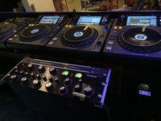 New playground for Mighty OC Hey Mr Dj, Dj Sound, Velvet Lounge, Dj Gear, Dj Booth, Dj Equipment, Dj Music, The Dj, Booth Design