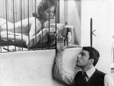 LES COUSINS Claude Chabrol directs Juliette Mayniel, Gérard Blain, and Jean-Claude Brialy in a French New Wave love triangle. Claude Chabrol, Robert Bresson, Francois Truffaut, Film D, Drama Film, Film Stills, French New Wave, Image Film, Famous Photographers