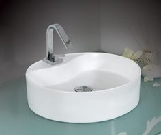 כיורים עגולים | כיור עגול - הרודס מטבחים Sink, Bathtub, Bathroom, Home Decor, Sink Tops, Standing Bath, Washroom, Vessel Sink, Bathtubs