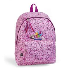Children's Backpacks - Spring Daydreams - Available now on Becky & Lolo Children's Backpacks, School Backpacks, Girls Rucksack, Personalized Backpack, The Perfect Girl, Practical Gifts, Flower Applique, Pre School, Pink Purple