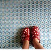 French linoleum tiles