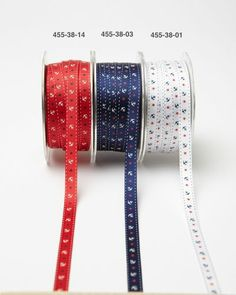 Anchors Aweigh!  This 3/8 Inch Grosgrain Ribbon has Anchors & Stars  and 50 yards to a roll for $39.95. That's less than $.80 per yard. If a #militarywedding is in your future, this ribbon would look great on your wedding favors. To see more ribbon, click www.favorsyoukeep.com/ribbon.html or call the ribbon experts at 512.323.0600. Family run since 1987! Follow us on www.facebook.com/favorsyoukeep #specialtyribbonaustintexas #uniqueribbon #designerribbon