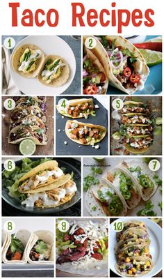 """Taco 'bout delicious! Celebrate Cinco de Mayo with one of these gourmet taco recipes! {1} A Couple Cooks Ricotta Scrambled Egg and Asparagus Tacos {2} Simply Delicious Slow-Braised Short Rib Tacos with """"Quick-Pickled"""" Red Onion {3} Half Baked Harvest Korean Fried Chicken Tacos with Sweet Slaw, Crunchy Noodles + Queso …"""