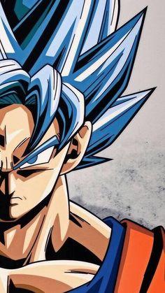Goku ssjPinned from Uploaded b Dragon Ball Gt, Blue Dragon, Wallpaper Do Goku, Mobile Wallpaper, Fan Art, Manga Dragon, Animes Wallpapers, Wallpapers Wallpapers, Son Goku