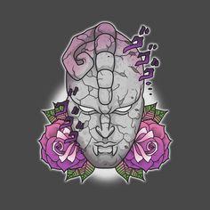 Check out this awesome 'Reject+Humanity' design on – Hora de Aventura Bizarre Art, Jojo Bizarre, Anime Tattoos, Body Art Tattoos, Peachy Eyeshadow, Adventure Tattoo, Hollow Art, Tattoo Project, Jojo Bizzare Adventure