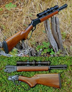 Marlin 39A (BackPacker Lite Scout) lever action rifle by Grizzly Custom Guns