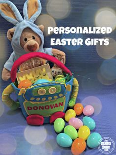 TheMamaZone.com: Personalized Easter Gifts for kids from PersonalCreations.com #sponsored