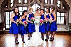 23 - Vestido de Madrinha - azul