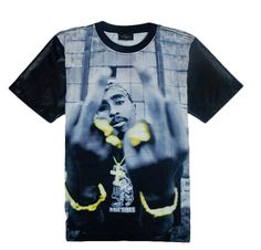 a0412c85021 Tupac Middle Finger T-Shirt Men Summer, Summer Tops, Summer Shirts, Dope