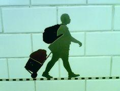 More subway wall art New York...