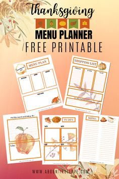 Thanksgiving Menu Planner, Thanksgiving Recipes, Holiday Recipes, Holiday Ideas, Christmas In Spain, Free Meal Planner, Menu Planners, Inspiring Things, Food Inspiration