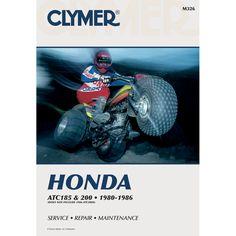 Clymer Honda ATC185 & ATC200 (1980-1986) - https://www.boatpartsforless.com/shop/clymer-honda-atc185-atc200-1980-1986/