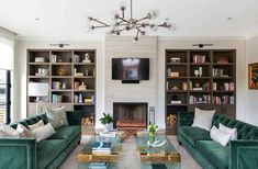 Light and airy contemporary home in a Milwaukee lakefront district #library #familyroom Interior, Home, Home Libraries, Circle House, Contemporary, Contemporary House, Modern Farmhouse, Milwaukee Home, Living Design