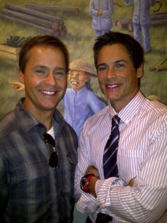 Chad and Rob Lowe (brothers)