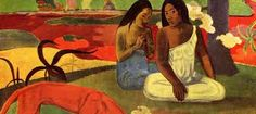 In honour of Paul Gauguin's birthday, BBC Culture asked readers to share their favourite paintings by the French Post-Impressionist painter. Paul Gauguin, Painting Prints, Canvas Prints, Kunst Poster, Exhibition Poster, Still Life Photography, Wedding Photography, Poster Making, Contemporary Paintings