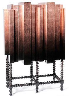Boca do Lobo - manuel modern copper cabinet