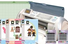 "Buy EXPRESSION MACHINE New 24"" Cricut w 4 Digital Design Cartridge BUNDLE + 10 Inks  Brand New Complete Cricut Expression Machine with 12x12 mat, cords, blade, and manual, Storybook Cartridge, Doodlecharms Cartridge, Paperdolls Dress up Cartridge, Spring Holiday cards Cartridge Fashion inks Set, Basic inks Set."
