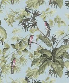 P-S-international-tropical-exotique-oiseaux-fond-decran-05550-10-Arbre-feuillage-bleu