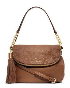 Michael Kors Medium Weston Convertible Shoulder Bag- beautiful leather and chain strap- beautiful color
