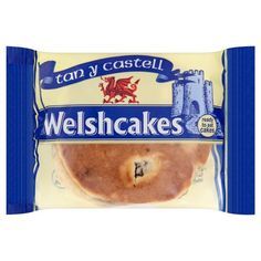 tan y castell - welshcakes welsh cakes 2 pack wedding favour gift