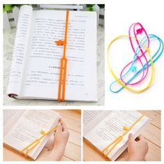 PY011 Silicone Bookmarks Elasticity Bookends Book Clip Organizer Reader Tool office Items Stuff Accessories Supplies Products-in Bookends from Office & School Supplies on Aliexpress.com | Alibaba Group
