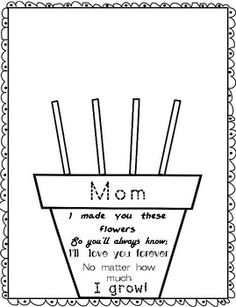 Mother's Day Handprint Flower Pot Poem Best Picture For DIY Mothers Day crafts For Your Taste You are looking for something, and it is going to tell you exactly what you are looking for, and you didn' Mothers Day Crafts Preschool, Diy Mother's Day Crafts, Mother's Day Diy, Toddler Crafts, Kids Crafts, Summer Crafts For Toddlers, Spring Crafts, Preschool Ideas, Creative Crafts