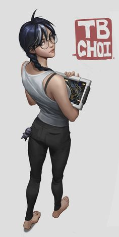 Female Character Design, Character Design Inspiration, Comic Character, Character Concept, Concept Art, Character Outfits, Character Drawing, Rainbow Six Siege Dokkaebi, Rainbow 6 Seige