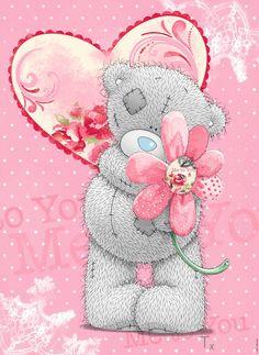 Tatty Teddy ♥ღ Teddy Images, Teddy Bear Pictures, Cute Images, Cute Pictures, Tatty Teddy, Blue Nose Friends, Bear Illustration, Love Bear, Cute Teddy Bears