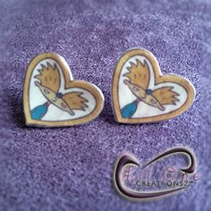 $8 Fun Hey Arnold Helga Obsession Frame Earrings by LiLONECREATiiONSZ on Etsy https://www.etsy.com/listing/190181347/fun-hey-arnold-helga-obsession-frame