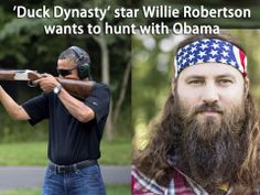 Find out will #DuckDynasty star #WillieRobertson grants his request to hunt with Obama? http://dovehunter.net/willie-robertson-hunting-with-obama/ #DuckCommander