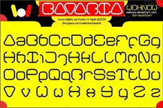 bavaria font by weknow on @creativemarket