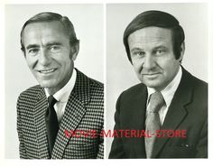 Chris Schenkel and Jim McKay Nfl Football, College Football, The Mike, Sports Photos, Los Angeles Dodgers, Old Tv, Good Times, Famous People, Favorite Tv Shows