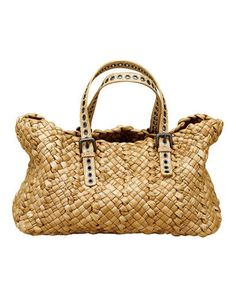 """Love this Straw Bag, but it's from a year ago and """"price upon request"""" aka """"if you have to ask, you can't afford it"""" Fashion Bags, Fashion Accessories, Fashion Trends, Summer Bags, Purses And Handbags, Straw Handbags, Beautiful Bags, My Bags, Straw Bag"""