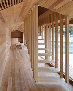 "3,900 Me gusta, 39 comentarios - Interior Design Magazine (@interiordesignmag) en Instagram: ""Inside a Yoshino, Japan abode by Go Hasegawa and Associates, cedar treads beckon visitors to a…"""